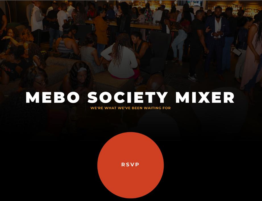 MEBO Society - #MeetMEBOMixer - Nov 2019