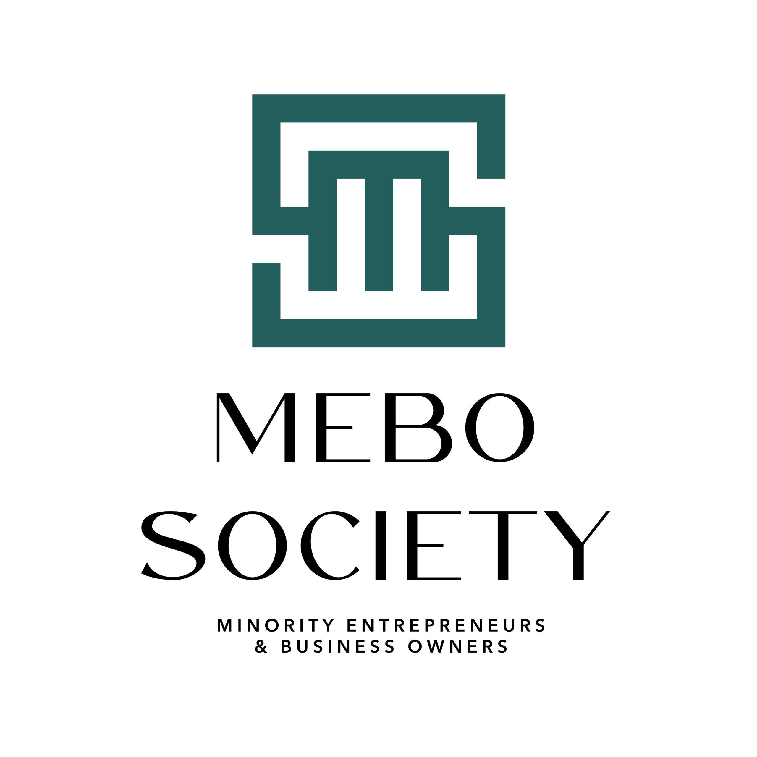 MEBO Society emerald green logo